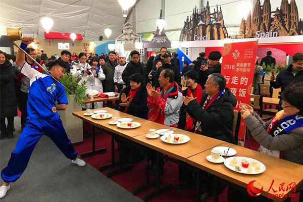 Feiern Sie die Olympischen Spiele mit chinesischem Tee, chinesischem Essen und Getränktraditionen